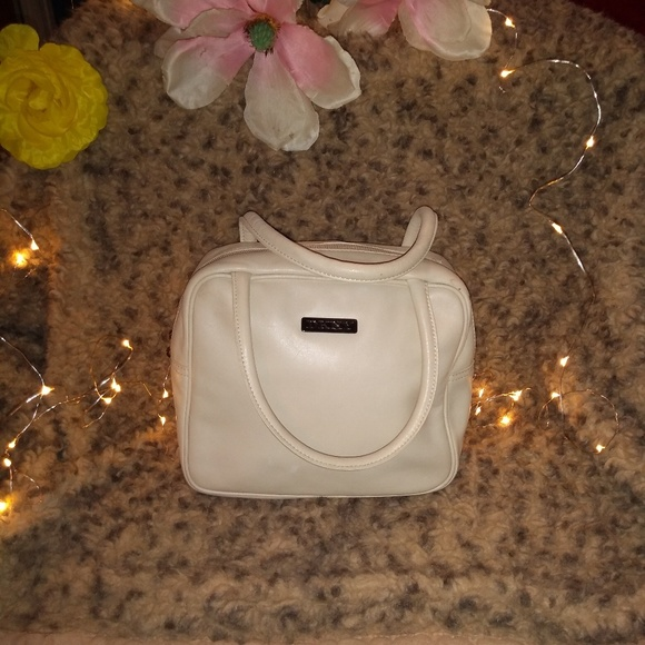 Dkny Handbags - Vintage DKNY mini bowler purse